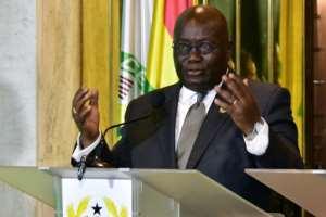 Ghana's President Nana Akufo-Addo tweeted that Trump's reported language was