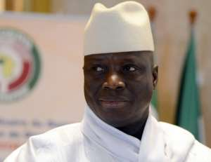 Ghana's President Yahya Jammeh seized power in a 1994 coup