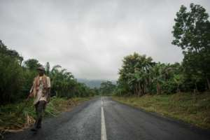 Ghana's Volta region is home to coffee production. By CRISTINA ALDEHUELA (AFP/File)