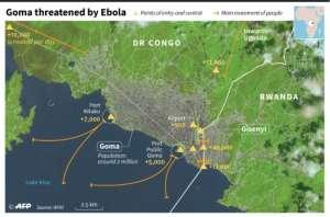 Goma.  By Simon MALFATTO (AFP)