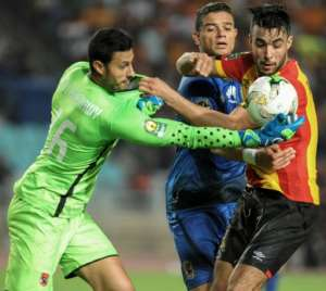 Goalkeeper Mohamed el Shenawy is set to start for Al Ahly this Tuesday away to Simba SC in a CAF Champions League group match.  By SALAH HABIBI (AFP)
