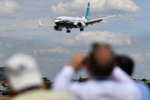 Governments around the world are grounding Boeing 737 Max aircraft or barring them from their airspace.  By BEN STANSALL (AFP/File)