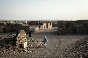 Grey-stone buildings dating from Tichitt's golden age have survived and UNESCO and the Mauritanian government stipulate that new constructions retain the unique architectural style.  By JOHN WESSELS (AFP)