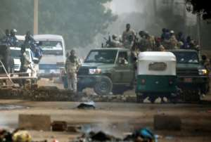Gunfire was heard from the protest site by an AFP journalist, who reported a heavy deployment of security forces around the streets of the capital.  By ASHRAF SHAZLY (AFP)