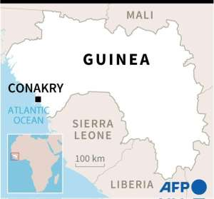 Guinea is a former French colony.  By Gillian HANDYSIDE (AFP)