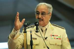 Haftar's forces already control much of eastern Libya. By Abdullah DOMA (AFP/File)