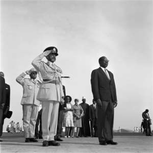 Haile Selassie holds the record with 44 years in power.  By - (AFP/File)