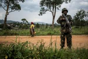 Half of the UN's peacekeeping missions are in Africa, prompting calls for the African Union to step in to lead peace operations.  By John WESSELS (AFP/File)