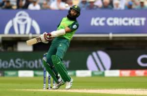Hashim Amla has more than 8,000 one-day international runs for South Africa.  By Oli SCARFF (AFP)