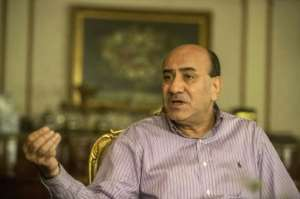 Hisham Geneina was head of Egypt's Central Auditing Organisation until he was sacked for allegedly exaggerating the cost of corruption.  By KHALED DESOUKI (AFP/File)