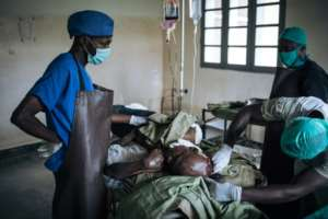 Hospitals in many African countries struggle with poor equipment and lack of trained staff.  By ALEXIS HUGUET (AFP)