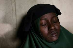Humaira Mustapha's two daughters were kidnapped at the Government Girls Secondary School in Jangebe.  By Kola Sulaimon (AFP)