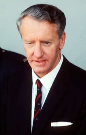 Ian Smith, the former leader of rebel Rhodesia, pictured in July 1971.  By PHILIPPE LEDRU (AFP/File)