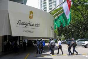 IFC projects include a $145 million loan to hotel chain Shangri-La Asia to support jobs, mostly held by women, in the tourism sector devastated by the pandemic.  By Roslan RAHMAN (AFP)