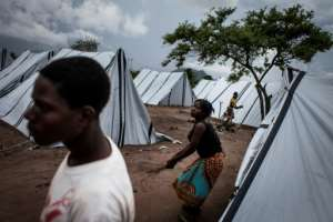 In 2016, thousands of people fled their homes after fighting broke out between Renamo fighters and government troops.  By JOHN WESSELS (AFP/File)