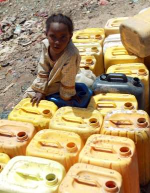 In the mountains of Yemen, the growing of qat, a thirsty plant sold as a mild stimulant, led to severe water shortages. The water table fell by as much as six metres (20 feet) a year