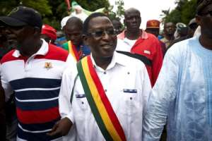 In a first for a Mali, unidentified gunmen this week kidnapped leading opposition figure Soumaila Cisse while he was campaigning in the war-torn centre of the country.  By Michele CATTANI (AFP/File)
