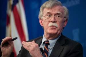 In a speech billed as unveiling a new US strategy on Africa, national security advisor John Bolton sounded the same notes as Donald Trump's