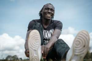In an interview with AFP Kenya's Olympic 800m bronze medallist Margaret Nyairera Wambui says she is concerned about her future after the introduction of new rules on testosterone levels. By Yasuyoshi CHIBA (AFP)