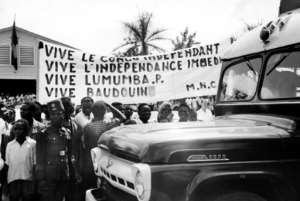 In December 18, 1960, there was still much support for Lumumba in Stanleyville (now Kisangani).  By - (AFP/File)