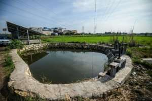 In Kafr al-Dawar in the delta's north, Egypt's irrigation ministry and the UN are working on eco-friendly techniques.  By Mohamed el-Shahed (AFP)
