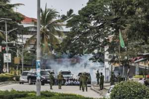 In semi-autonomous Zanzibar, which also elects its own president, attempts to protest were quickly and brutally crushed by security forces.  By MARCO LONGARI (AFP/File)