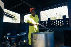 Inmates complain that the get maize porridge for breakfast, lunch, and dinner..  By Jekesai NJIKIZANA (AFP/File)