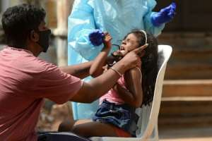India has more than eight million coronavirus cases, and is bracing for a possible second wave ahead of a series of religious festivals. By NOAH SEELAM (AFP)