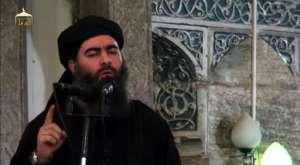 Islamic State leader Abu Bakr al-Baghdadi proclaimed a