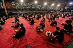 Iran reopened mosques for holy Ramadan nights.  By ATTA KENARE (AFP)