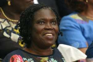 Ivory Coast's former first lady Simone Gbagbo, seen here in 2014, has spent seven years behind bars.  By Sia KAMBOU (AFP/File)