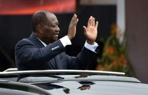 Ivory Coast's President Alassane Ouattara has been in power since 2010.  By SIA KAMBOU (AFP/File)