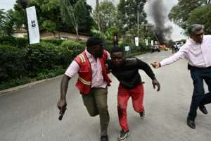 January 15 2019: An Al-Shabaab attack on the Dusit hotel and office complex in Nairobi leaves 21 dead. By SIMON MAINA (AFP)