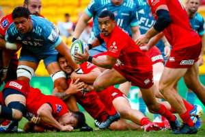 Japan's Sunwolves joined Super Rugby in 2016.  By Patrick HAMILTON (AFP)