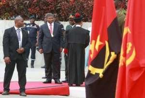 Joao Lourenco, Dos Santos's handpicked successor, was sworn in last September.  By AMPE ROGERIO (AFP)