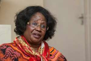 Joyce Banda, pictured at her home village of Domasi in eastern Malawi after her return from self-imposed exile.  By Amos Gumulira (AFP)