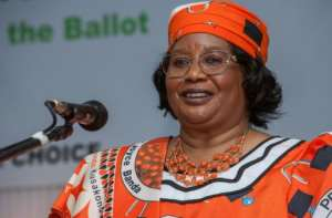 Joyce Banda served as Malawi's president between 2012 and 2014.  By AMOS GUMULIRA (AFP/File)