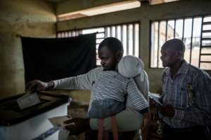 Just under 628,000 people were registered to vote in Gabon's presidential election, which is home to 1.8 million people