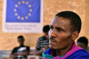Kante Sekou, a 27-year-old graduate, left Guinea in 2013 in the hope of getting to Europe but gave up after spending several nightmare years in Libya