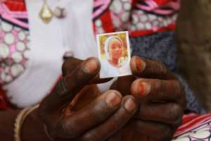 Kabu, one of the 112 abducted Chibok girls who are still missing. By Audu Ali MARTE (AFP)