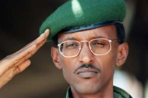 Kagame, then 36, was a rebel general when he led the mainly Tutsi Rwandan Patriotic Front (RPF) into Kigali and drove Hutu extremists out of the country. By ALEXANDER JOE (AFP/File)