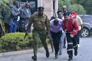 Kenya has borne the brunt of a string of attacks by Al-Shabaab -- in January, 21 people were killed in a brazen assault on a hotel and office complex in Nairobi.  By SIMON MAINA (AFP/File)