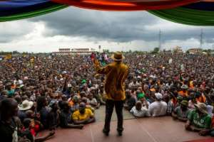 Kenya's opposition leader Raila Odinga has urged his supporters to