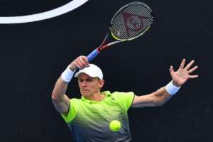 Kevin Anderson -- who lost in the final of the US Open in New York in September 2017 -- expressed delight at bucking a trend which has previously seen him lose in 11 finals.  By Paul Crock (AFP/File)
