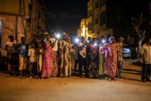 Khalifa Sall's release surprised many Senegalese, although it comes amid a de-escalation of political tensions.  By JOHN WESSELS (AFP)