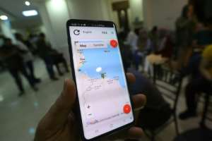 LCFP launched the app 'Kon Chahed' (Be a witness), which aims to protect reporters by providing them with a safe way to document attacks.  By Mahmud TURKIA (AFP/File)