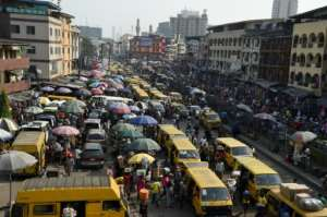 Lagos authorities said a ban on motorbike taxis and rickshaws was aimed at cutting down on 'deaths and disorderliness' on the city's choked roads.  By PIUS UTOMI EKPEI (AFP/File)