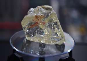 Last year's sale of the 'Peace Diamond' was meant to bring benefits to the village where it was found.  By TIMOTHY A. CLARY (AFP)
