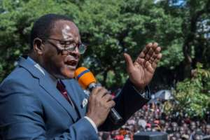 Lazarus Chakwera has made great efforts to re-energise the Malawi Congress Party's base.  By AMOS GUMULIRA (AFP/File)