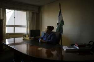 Lesotho's deputy health minister Manthabiseng Phohleli (pictured) said that the legalisation of cannabis presented
